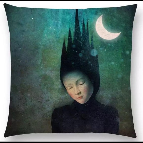 Okie Dokie Fun Other - Mystical World- Drifting Dreams Pillow Cover